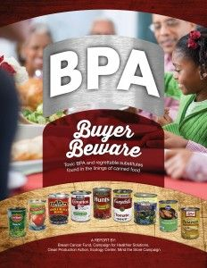 BPA Buyer Beware Report