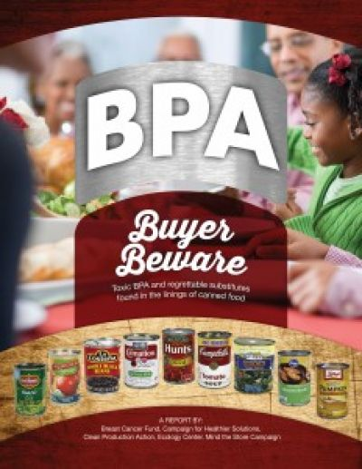 Two Out of Three Food Cans Tested Have  Toxic BPA in the Linings image
