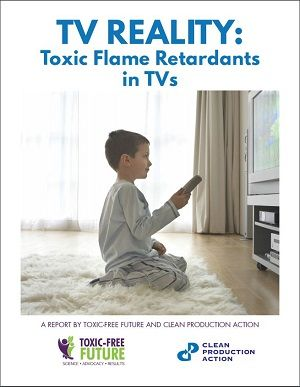 Toxic flame retardants still in TVs