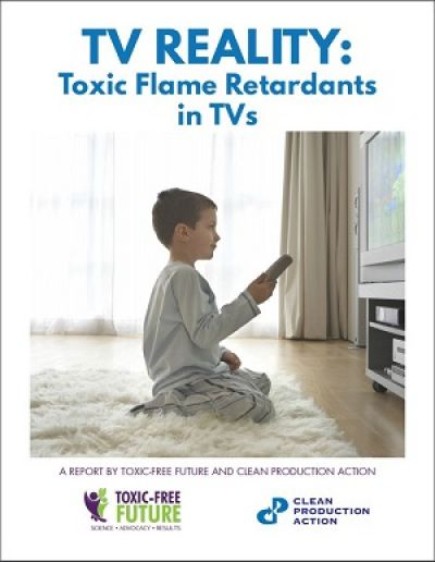 Toxic flame retardants still in TVs image