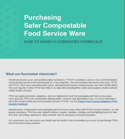 Webinar: How to purchase PFAS-free food service ware image